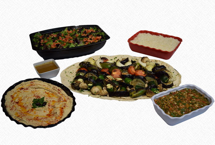 vegan vegetarian catering package
